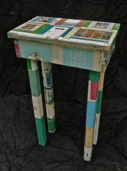 Metal Dollhouse Table