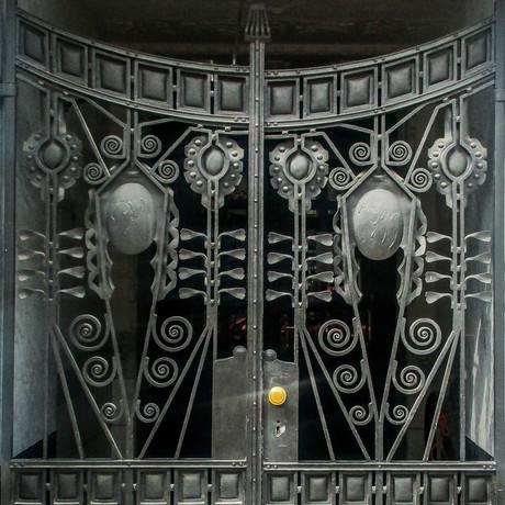 Nouveau Door Prague Czech Republic   2016