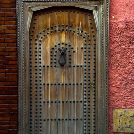 Studded Door Marrakesh  2016