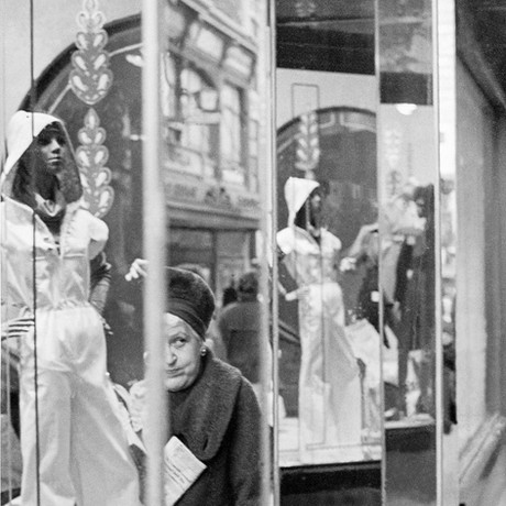 Winter Shopping Boston   1976