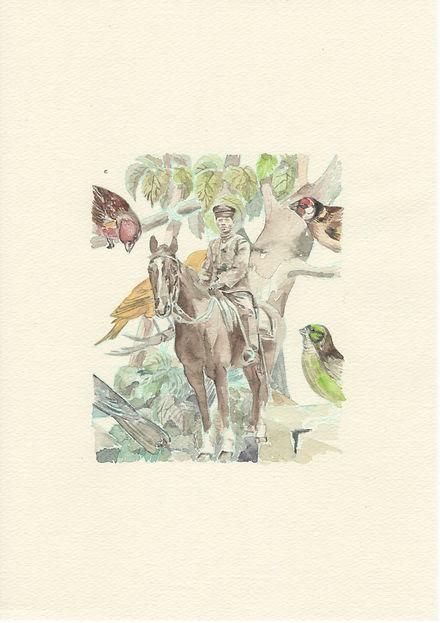 鳥たちと騎兵隊の男.jpg
