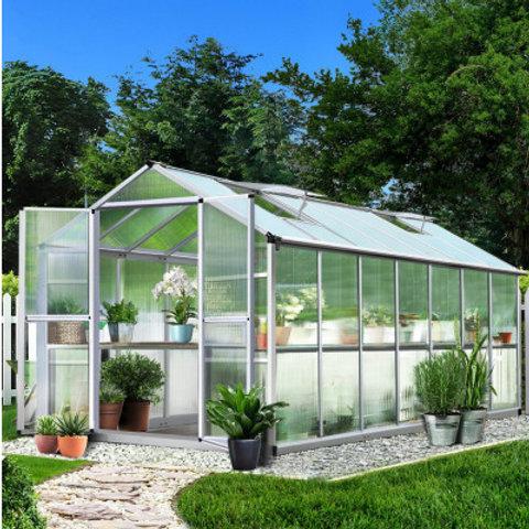 Greenhouse Aluminium 4.100M x 2.500M