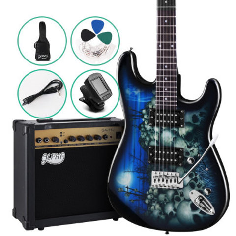Alpha Electric Guitar And AMP