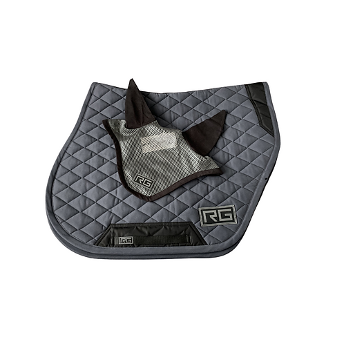 RG Italy Saddle pad and Ears Set