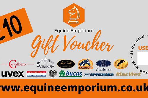 Equine Emporium £10 Gift Voucher