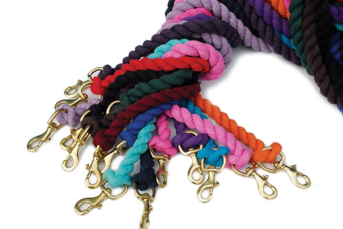 Plain Coloured Lead Rope