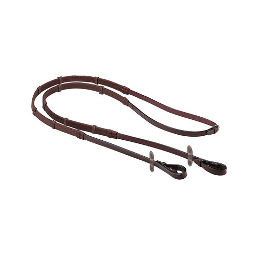 Equipe  Emporio Rubber Reins - Non-slip leatherstoppers