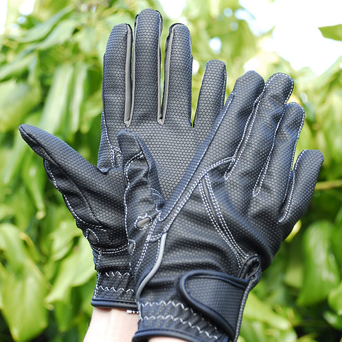 Sport Riding Gloves - Black