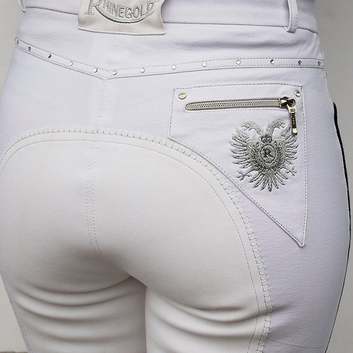 Elite Prestige Breeches - White