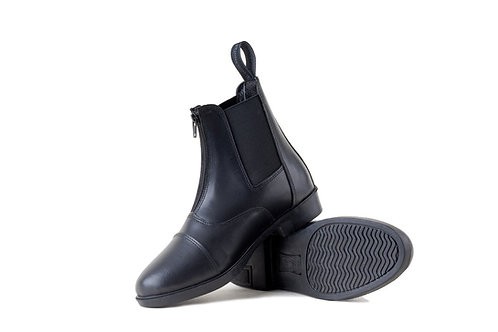 Boston Front Zip Paddock Boots