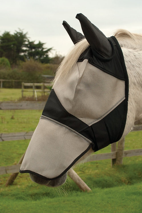 Fly Mask With Ear And Nose Coverage