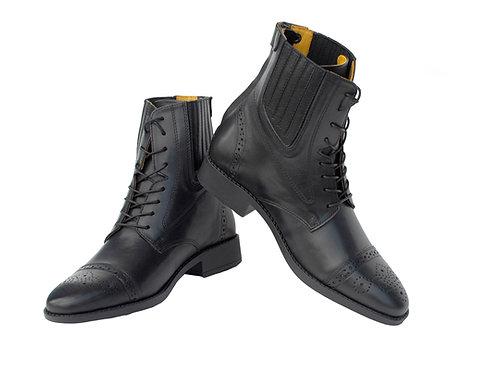 Rocco Italia Tuscany Paddock Boot - Black