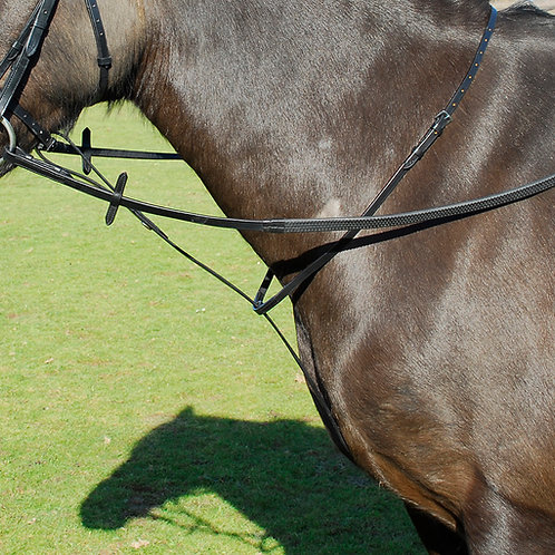 Windsor Equestrian Leather Standing Martingale