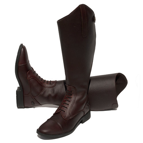 Wide Leg 'Luxus Extra' Leather Riding Boot