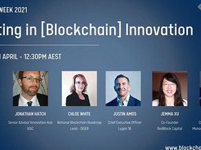 Get an ASIC Perspective: Investment in [Blockchain] Innovation - Blockchain Week Event