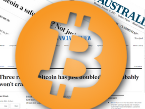 Aussie press muses Bitcoin as a gold replacement...