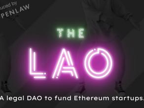 "Openlaw Announces ""The LAO"""