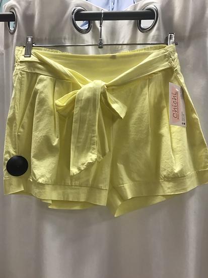 Шорты желтые 9805