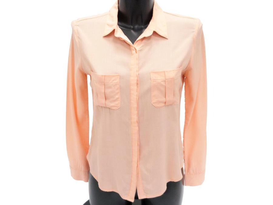 Блузка женская персиковая 95581
