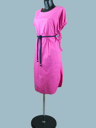 Платье летнее  фуксия 2016