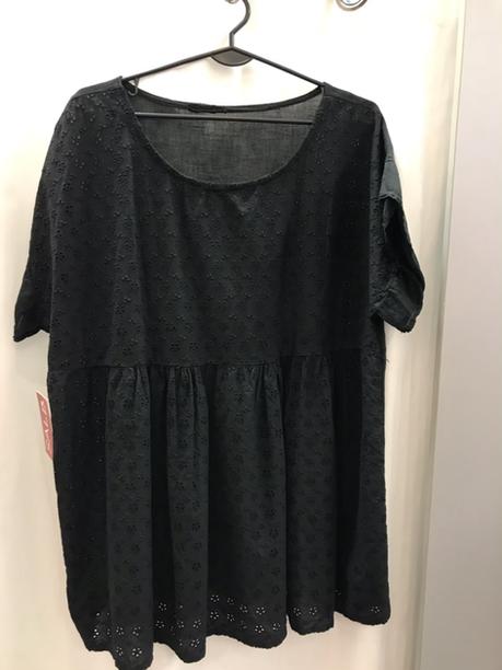 Блузка чёрная 20250210