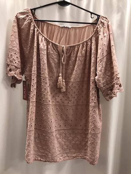 Блузка пудра 19251110