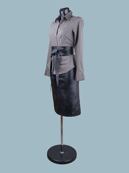 Женская блузка серая