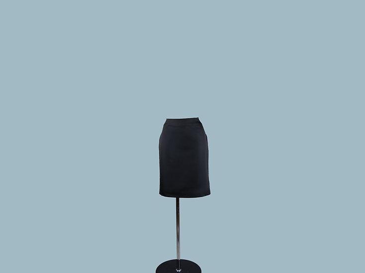 Юбка черная классическая 9529