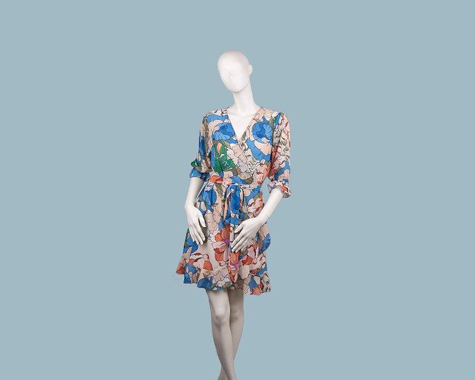 Платье с запахом 25590110