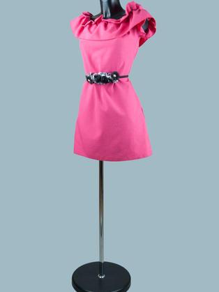 Нарядное платье фуксия 1911