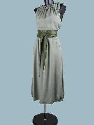 Платье макси хаки 2047