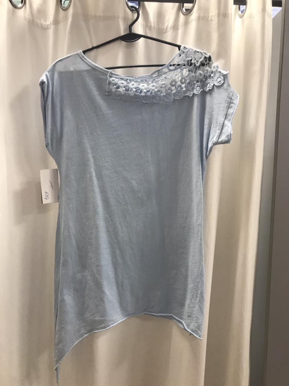 Туника голубая 9790