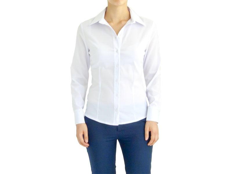 Блузка белая 121801