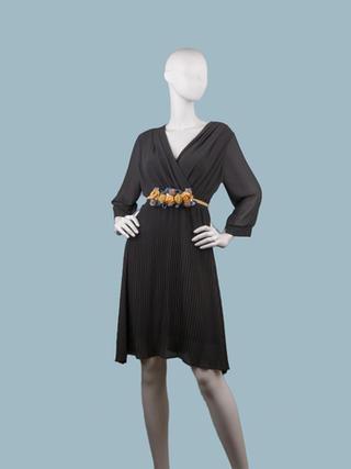 Платье нарядное коричневое 25394710
