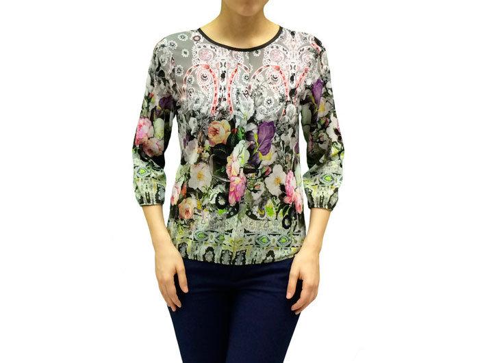 Нарядная блузка 100113