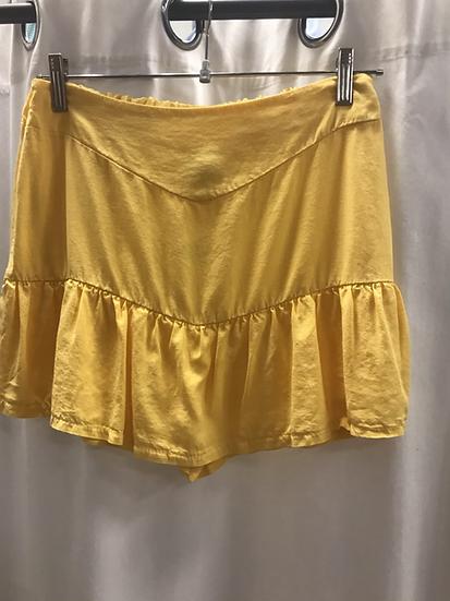 Юбка- шорты желтая 23740810