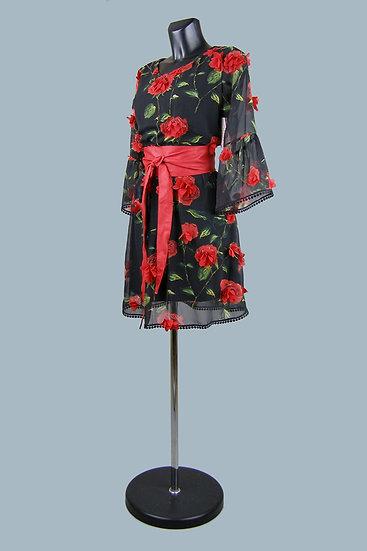 Нарядное шифоновое платье. Польша. Размер: 42-48