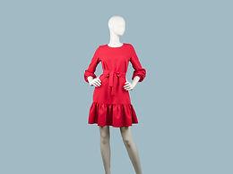Платье красное 257204