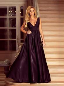 Вечернее платье в пол черное 1773