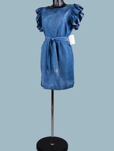 Платье джинсовое мини 2002