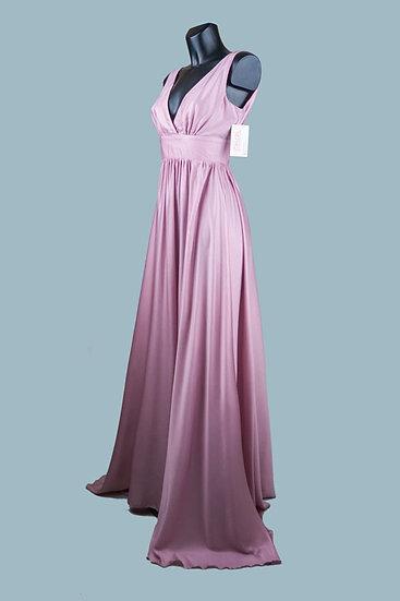 Платье для выпускного 2020в пол розовое1757. Польша. Размер: 42-44