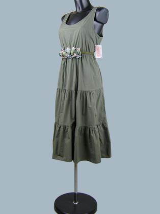 Летнее платье хаки 23622410