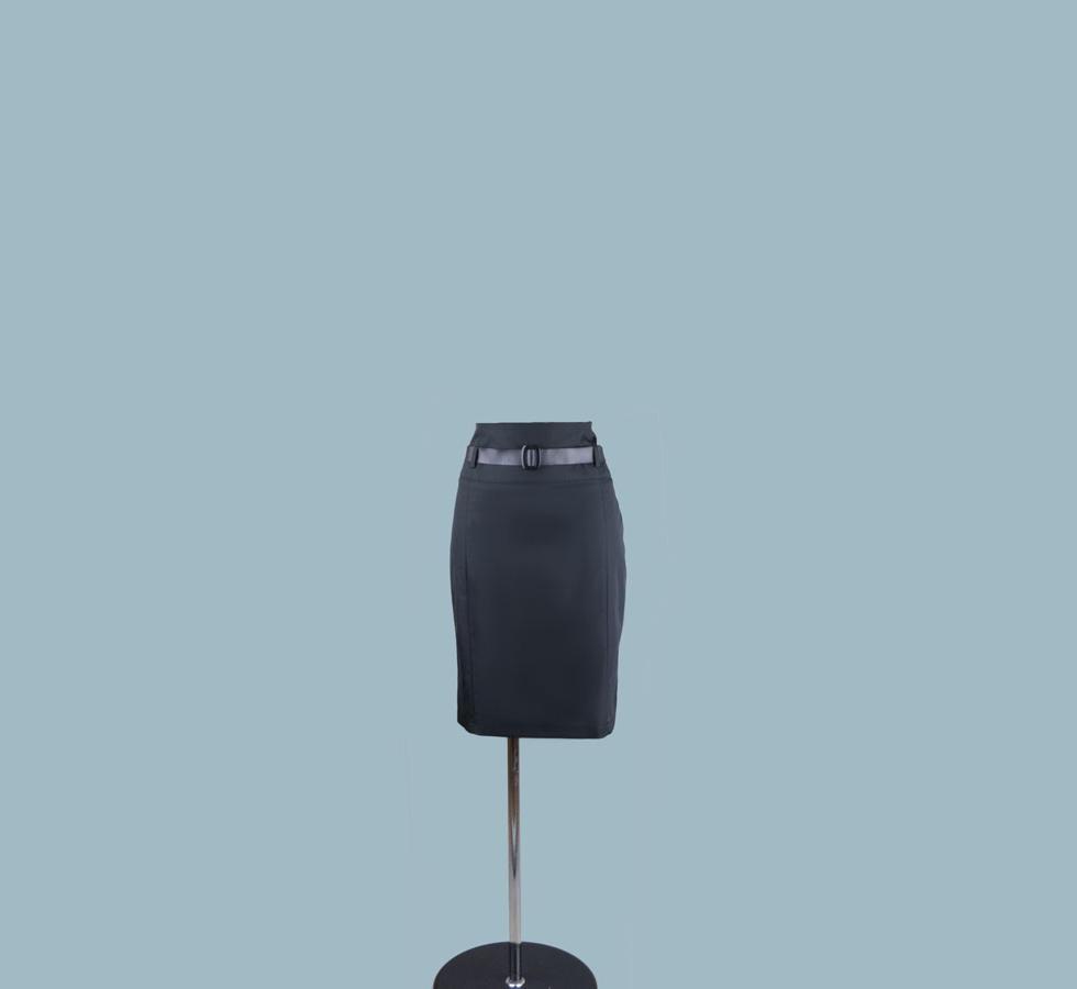 Юбка черная 909040