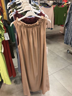 Платье бежевое 22214010
