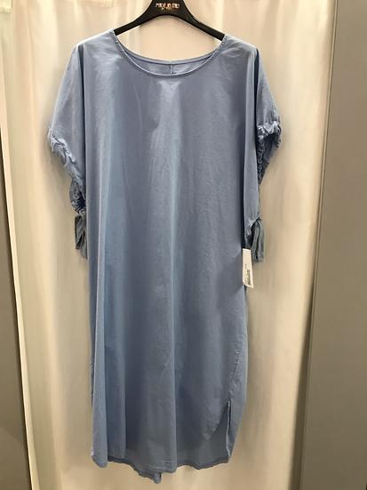 Платье  голубое  20160610