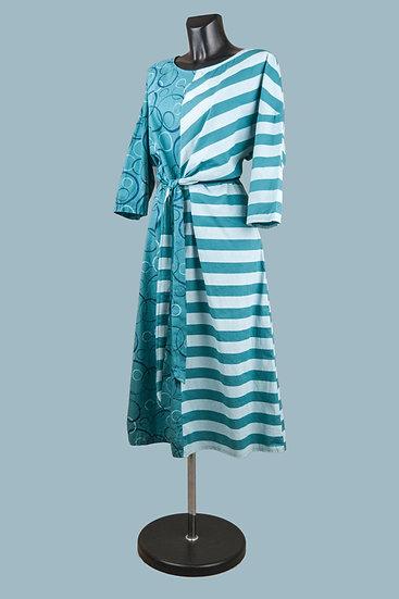 Летнее платье бохо асимметрия.Хлопок.Польша.Размер: 50-54
