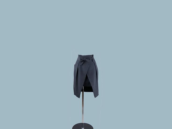 Юбка мини черная 1467