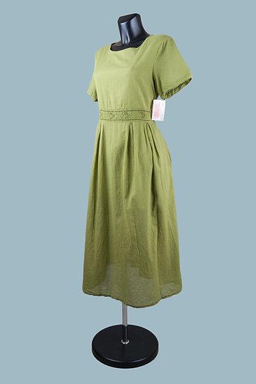 Летнее платье хакина подкладке. Польша.Размер: 46-50