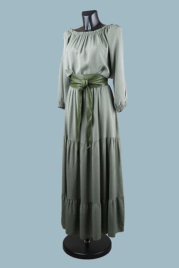 Длинное летнееплатье. Италия. 100% лиоцелл. Размер: 44-50