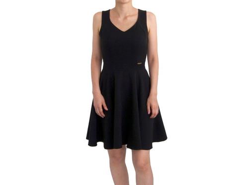 19014709b52 ... солнце 122205  Черное платье со свободной юбкой ...